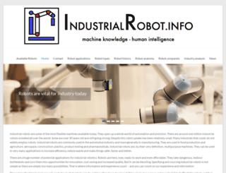 industrialrobot.info screenshot