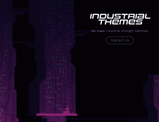 industrialthemes.com screenshot