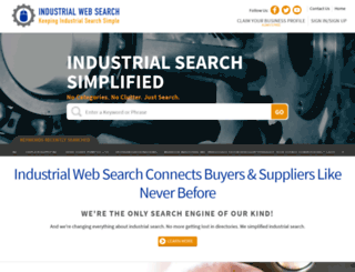 industrialwebsearch.com screenshot