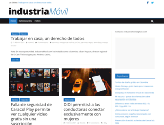industriamovil.com screenshot