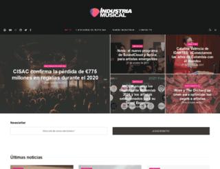 industriamusical.es screenshot
