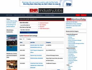 industry-jobs.enr.com screenshot