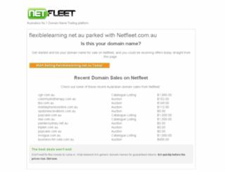 industry.flexiblelearning.net.au screenshot