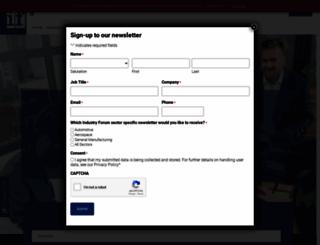 industryforum.co.uk screenshot