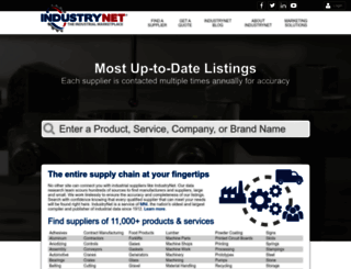 industrynet.com screenshot