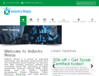 industryninjas.com screenshot