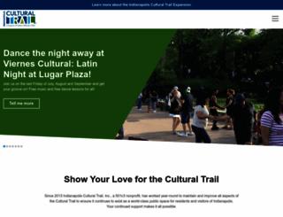 indyculturaltrail.org screenshot