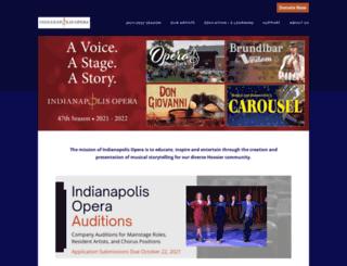 indyopera.org screenshot