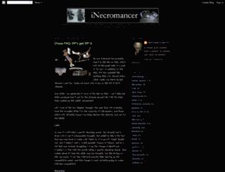 inecromancer.blogspot.com screenshot