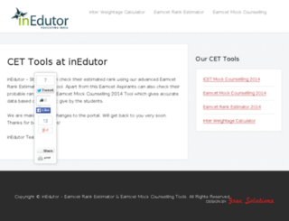 inedutor.com screenshot