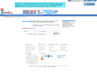 ineedhits.com screenshot