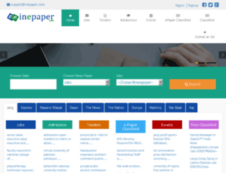inepaper.com screenshot