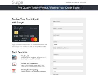 inet.yoursurgecard.com screenshot