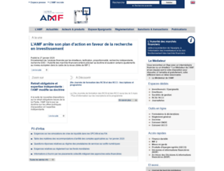 inetbdif.amf-france.org screenshot