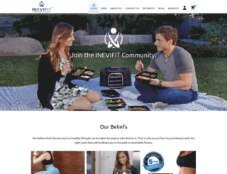 inevifit.com screenshot