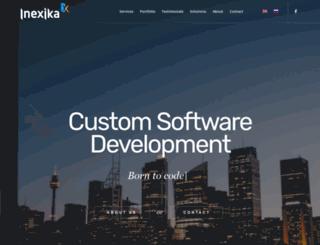 inexika.com screenshot