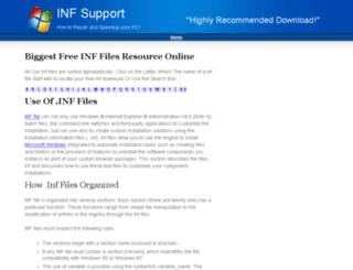 inf-files.net screenshot