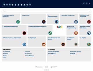 inf-schule.de screenshot