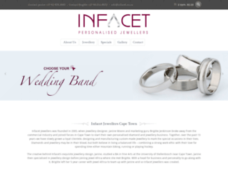 infacet.co.za screenshot