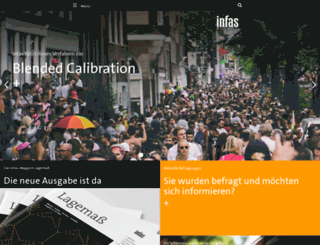infas.de screenshot
