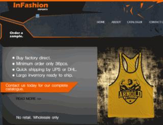 infashionexports.com screenshot