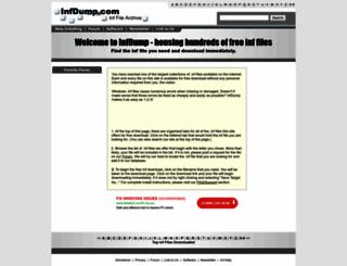 infdump.com screenshot