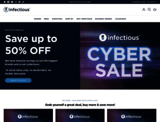 infectious.com.au screenshot