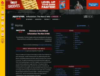 infestation.gamepedia.com screenshot