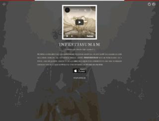 infestissumam.com screenshot