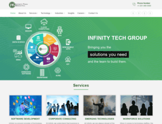 infigroup.com screenshot