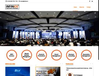 infinios.in screenshot