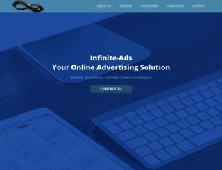 infinite-ads.com screenshot