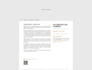 infinite-editions.com screenshot