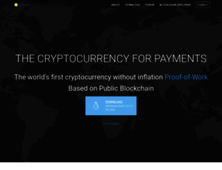 infinitecoin.com screenshot