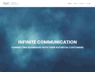 infinitecommunication.net screenshot