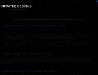 infinitee-designs.com screenshot
