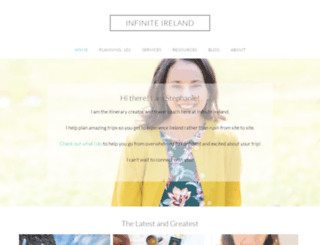 infiniteireland.com screenshot