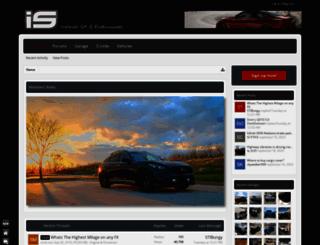 infinitiscene.com screenshot