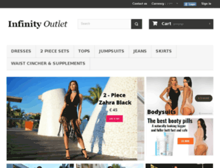 infinity-outlet.com screenshot