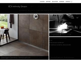 infinitydrain.com screenshot