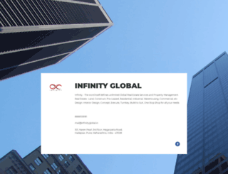 infinityglobal.in screenshot
