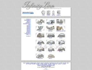 infinityline.net screenshot