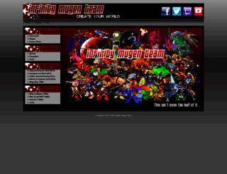 infinitymugenteam.com screenshot