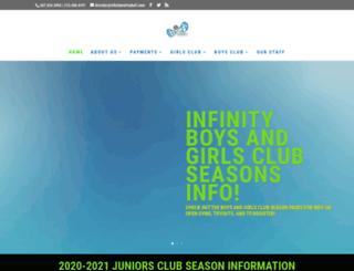 infinityvolleyball.com screenshot