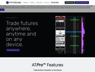 infinitywebinars.com screenshot