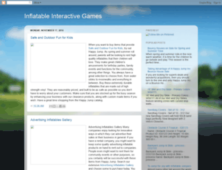 inflatable-interactive-games.blogspot.com screenshot
