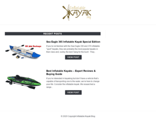 inflatablekayakblog.com screenshot