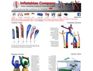 inflatablescompany.com screenshot