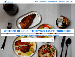 inflightfeed.com screenshot
