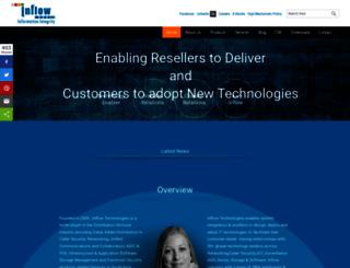 inflowtechnologies.com screenshot